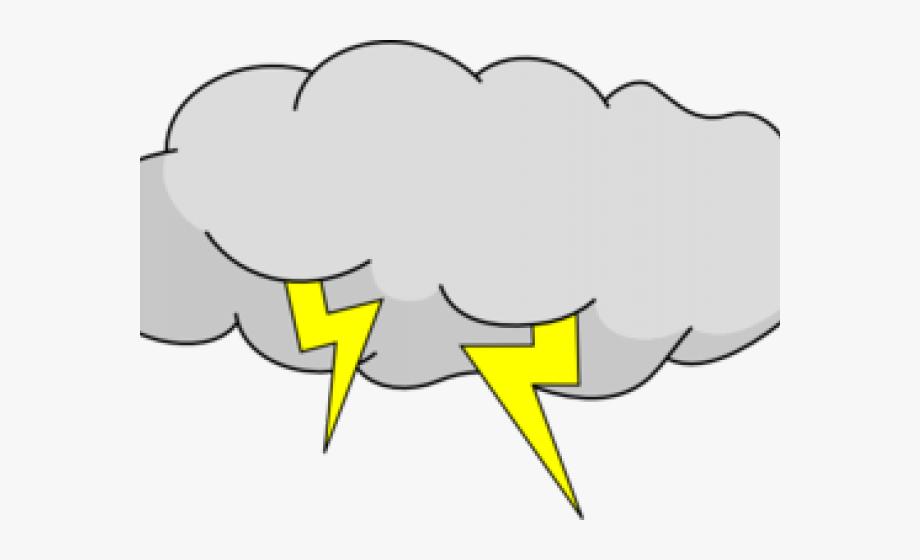 Clipart storm jpg transparent stock Lightning Clipart Hurricane - Cartoon Storm Cloud #1959281 - Free ... jpg transparent stock