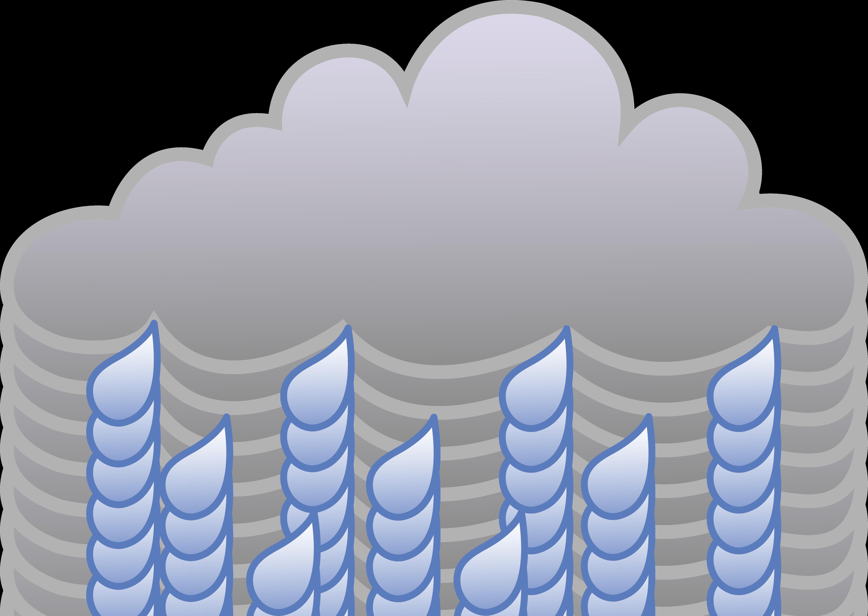 Free clipart rain cloud svg black and white Free Weather | Rain Cloud Weather Symbol - Free Clip Art | Kid ... svg black and white