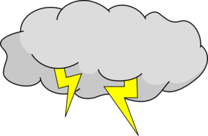 Storm clouds clipart picture library library Storm Cloud Clip Art at Clker.com - vector clip art online, royalty ... picture library library