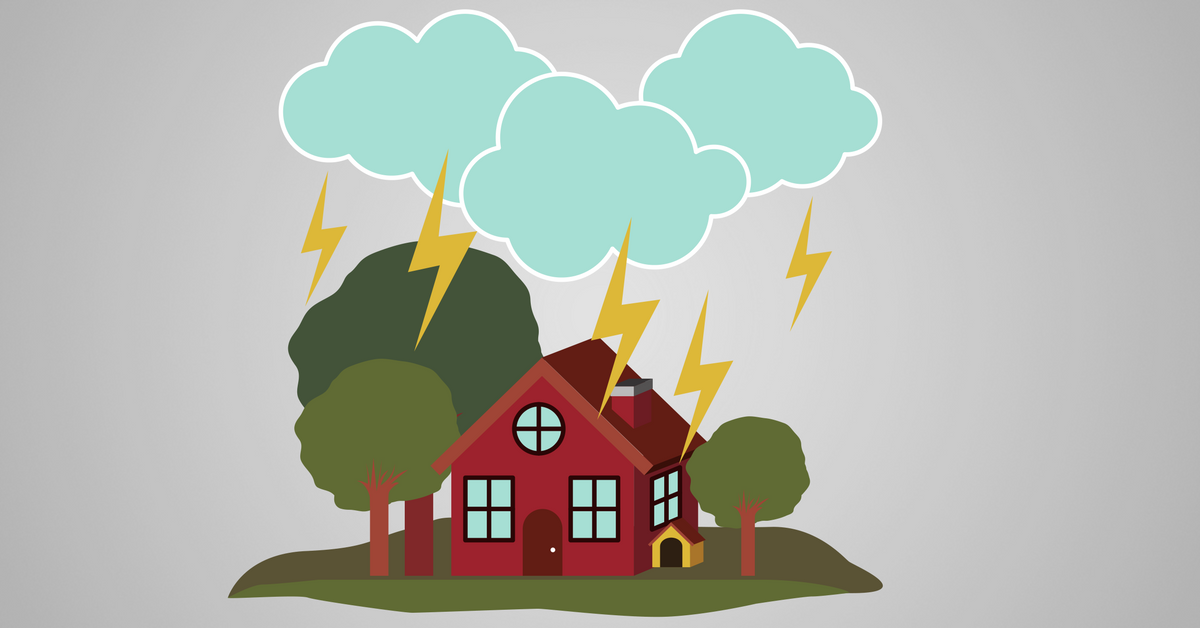 Clipart storm damage image library library Protecting Your Home from Storms | | Arkansas Insurance Agency image library library