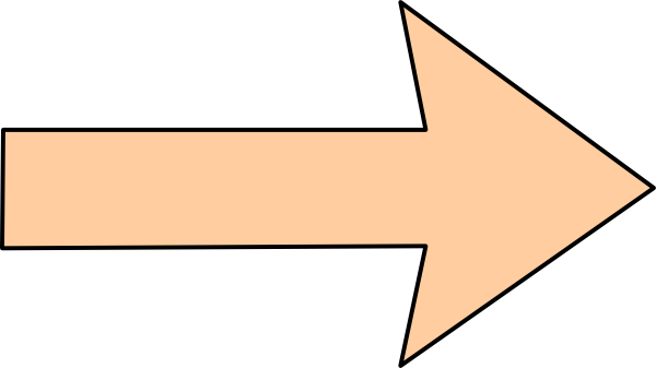 Clipart straight graphic royalty free library Orange Arrow Without Shadow, Straight Clip Art at Clker.com - vector ... graphic royalty free library