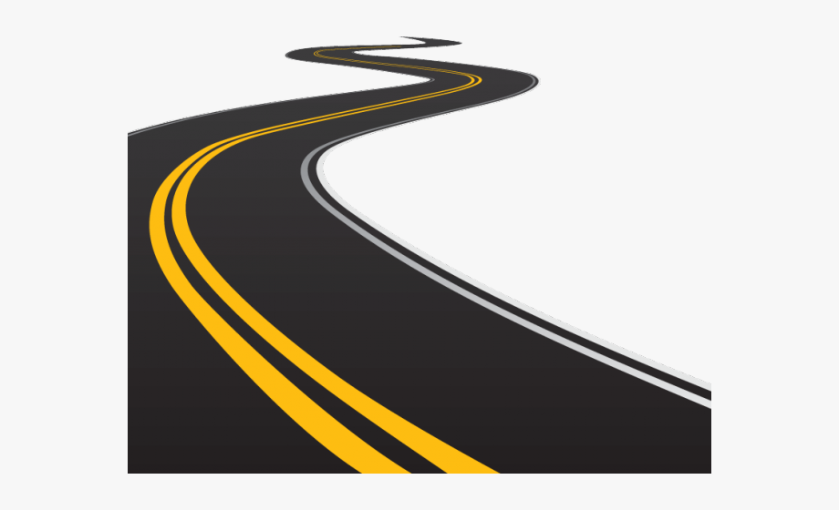 Clipart straight royalty free stock Curve Clipart Straight Road - Road Png, Cliparts & Cartoons - Jing.fm royalty free stock