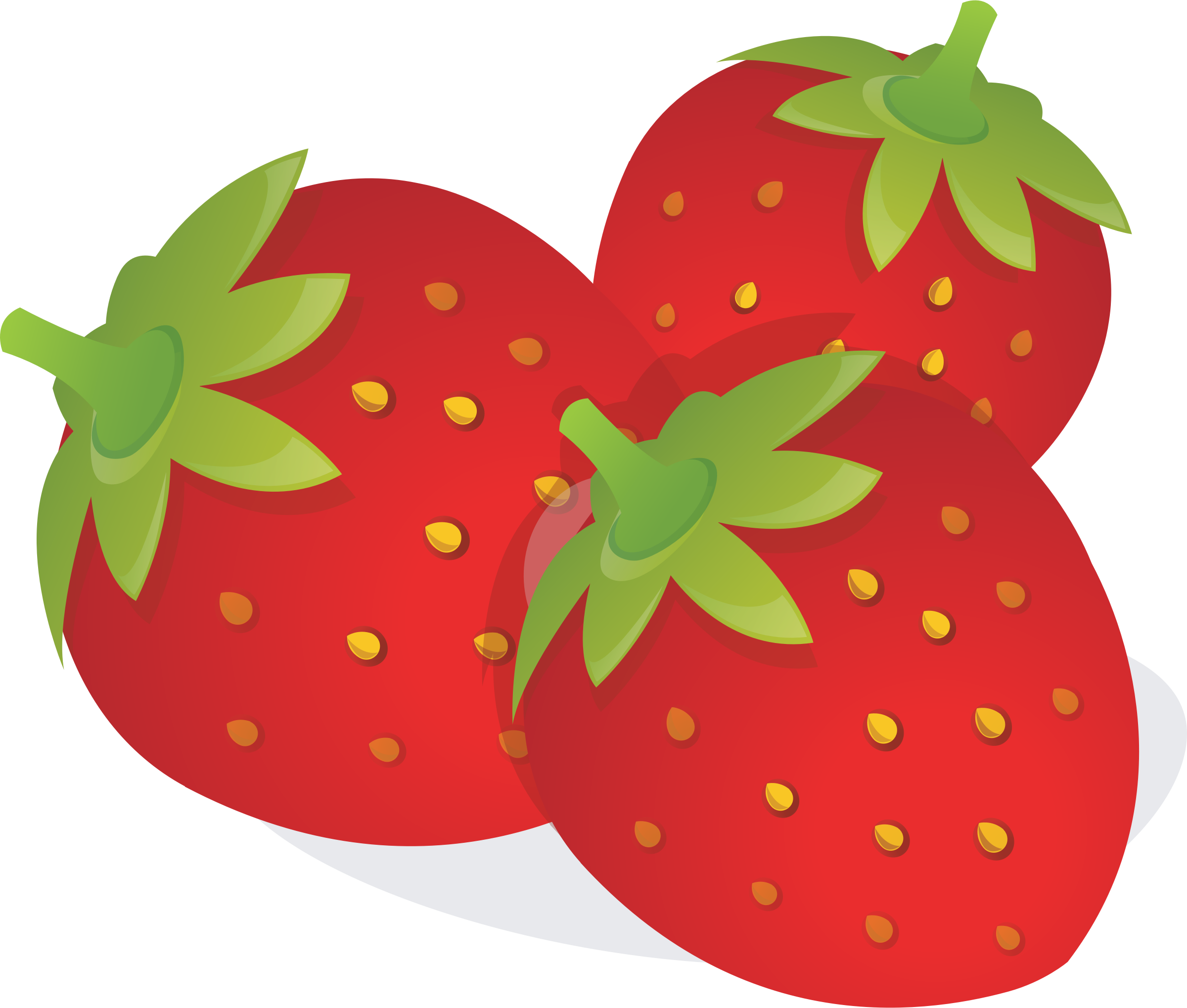 Clipart strawberrys banner download Clipart strawberries - Clipartable.com banner download