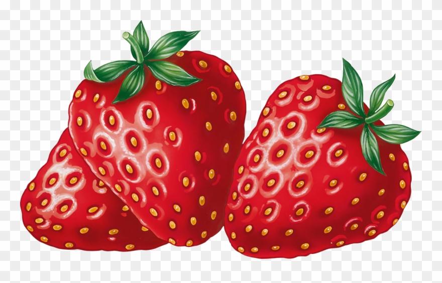 Clipart strawberrys image transparent Яндекс - Фотки - Fruit Clipart Strawberries - Png Download (#540731 ... image transparent