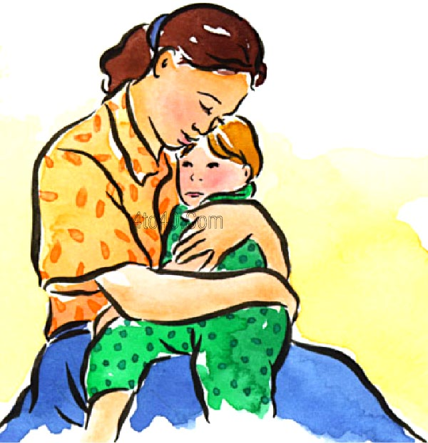 Hugging download best on. Free black and white clipart mother comforting child