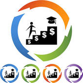Clipart student loan freeuse Financial Aid Clip Art - Royalty Free - GoGraph freeuse