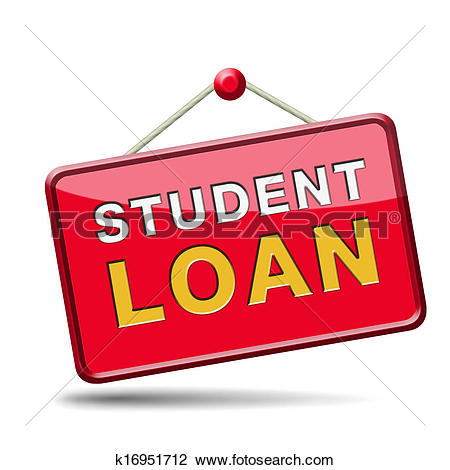 Clipart student loan svg black and white Stock Photo of student loan k16951712 - Search Stock Photography ... svg black and white