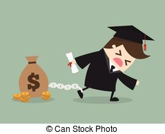 Clipart student loan image free library Student loan Vector Clipart Royalty Free. 337 Student loan clip ... image free library