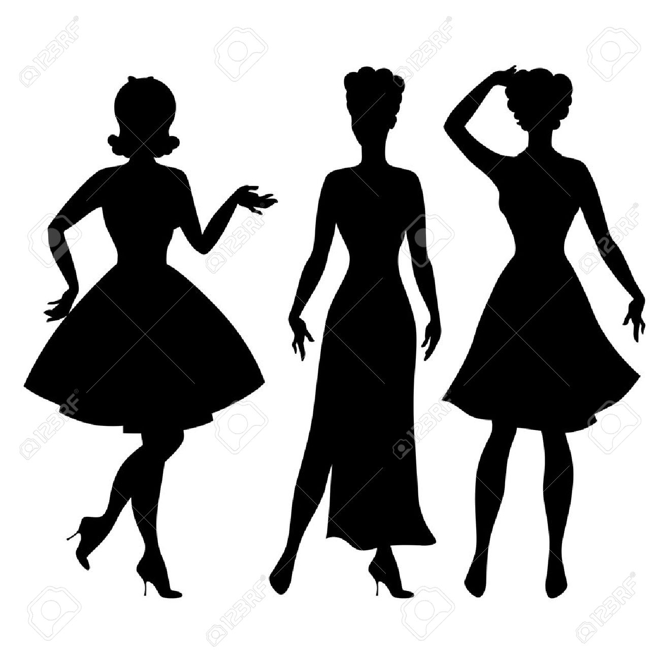 Women clipart border free clipart royalty free download Free Fashion Clipart, Download Free Clip Art, Free Clip Art on ... clipart royalty free download