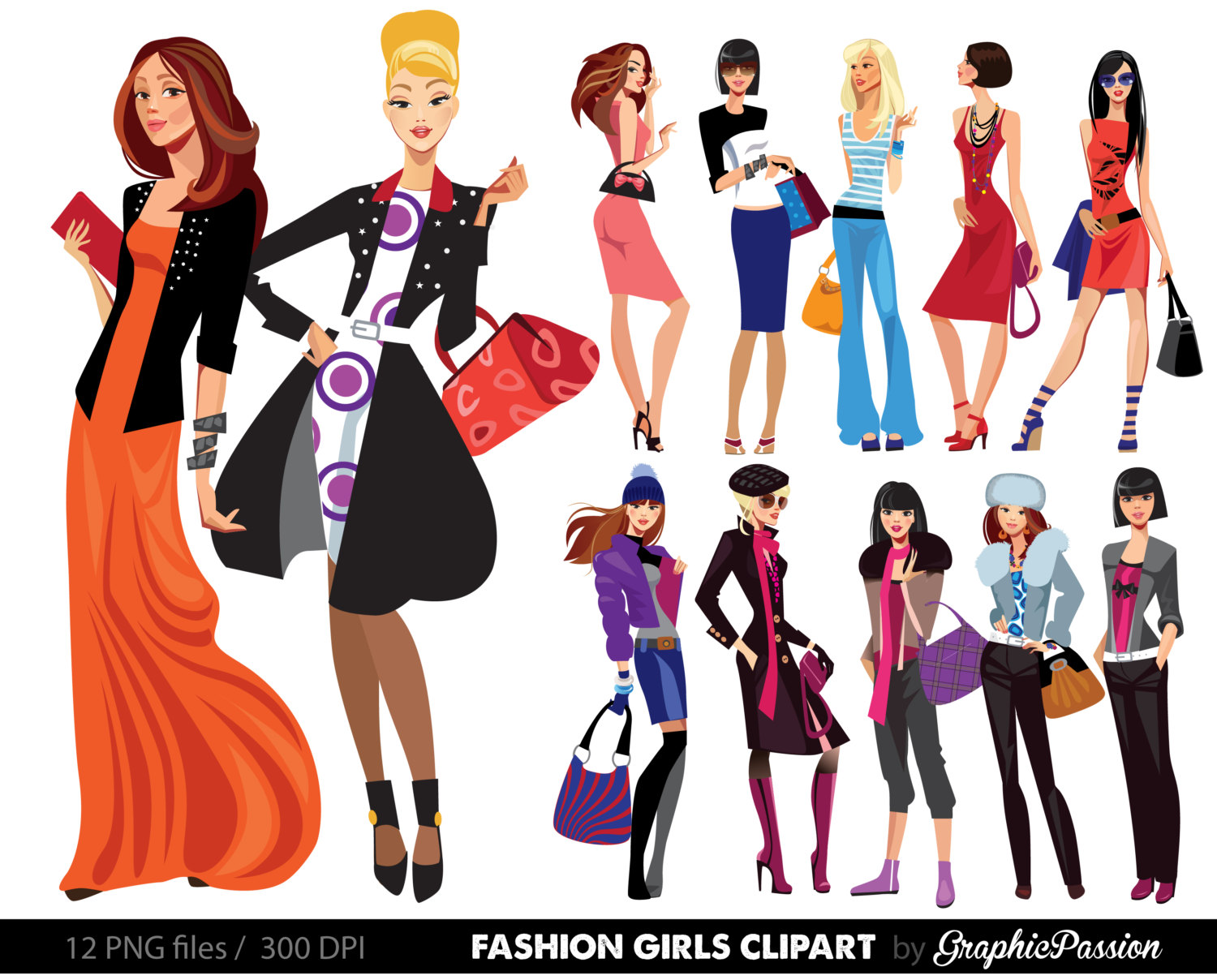 Womens shopping clipart jpg freeuse stock Free Fashion Cliparts, Download Free Clip Art, Free Clip Art on ... jpg freeuse stock