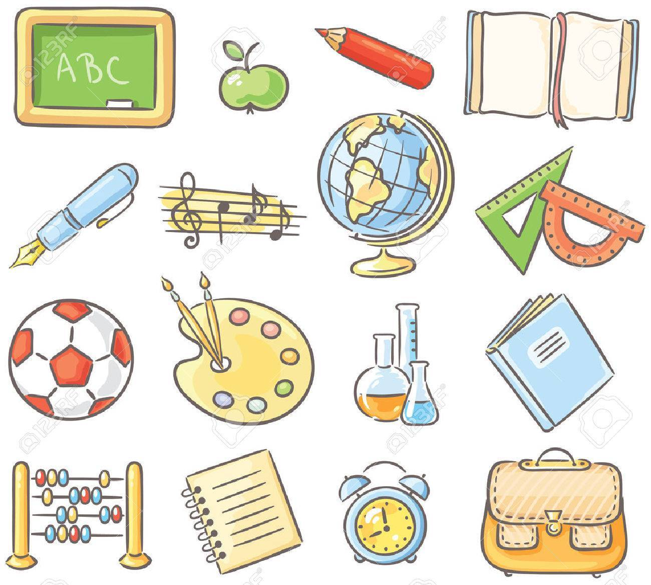 Clipart subjects clip black and white library Subjects clipart 2 » Clipart Portal clip black and white library