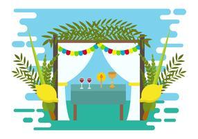 Clipart succah image freeuse download Sukkot Free Vector Art - (362 Free Downloads) image freeuse download