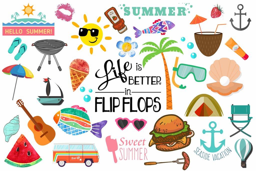 Clipart summer pictures clip transparent Summer Clipart (100+ pieces) – Discovery Center Store clip transparent