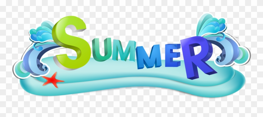 Clipart summerbanner graphic library stock Summer-banner Edited - Summer Party Logo Png Clipart (#1166503 ... graphic library stock