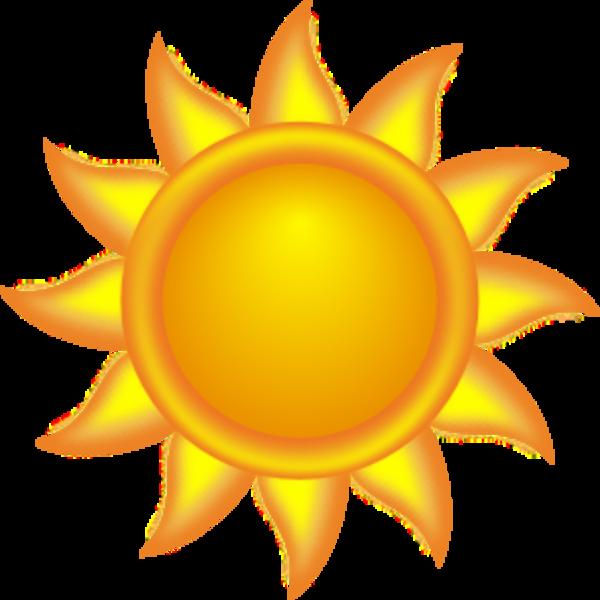 Sun blowing wind clipart banner Animated Sun (50+) banner