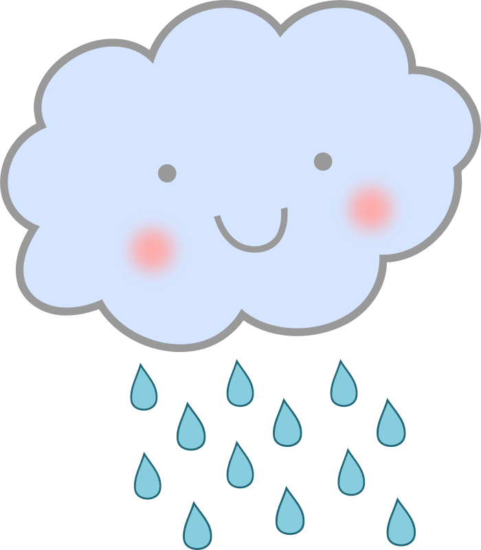 Rain sun clipart svg Rain Cloud Clipart at GetDrawings.com | Free for personal use Rain ... svg
