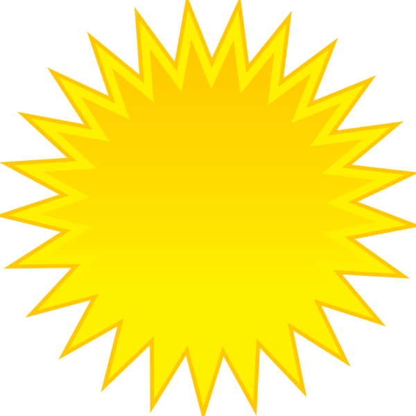 Snow and sun clipart image royalty free library Sun Clip Art at Clker.com - vector clip art online, royalty free ... image royalty free library