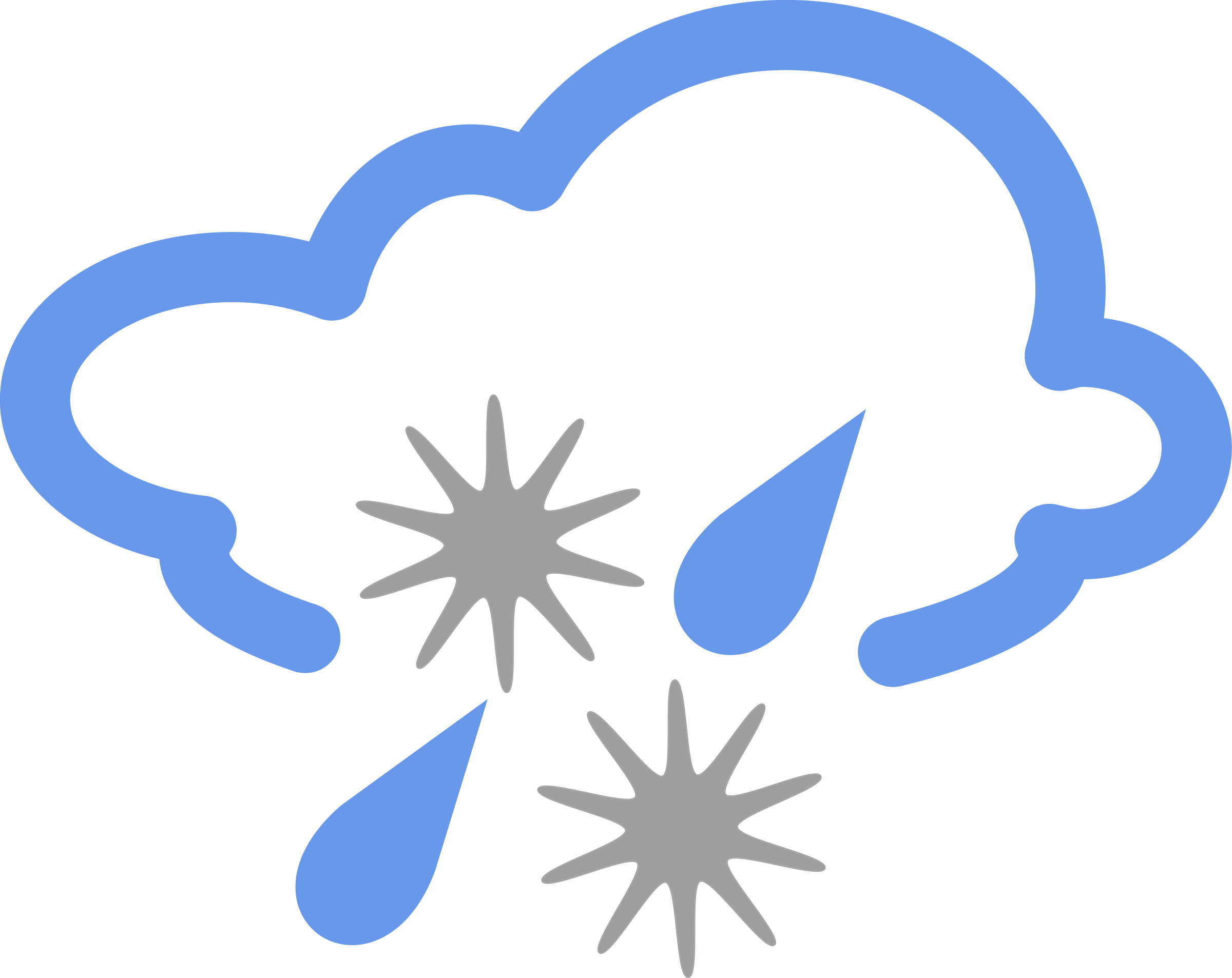 Clipart sun and snow royalty free download Clipart - simple weather symbols royalty free download