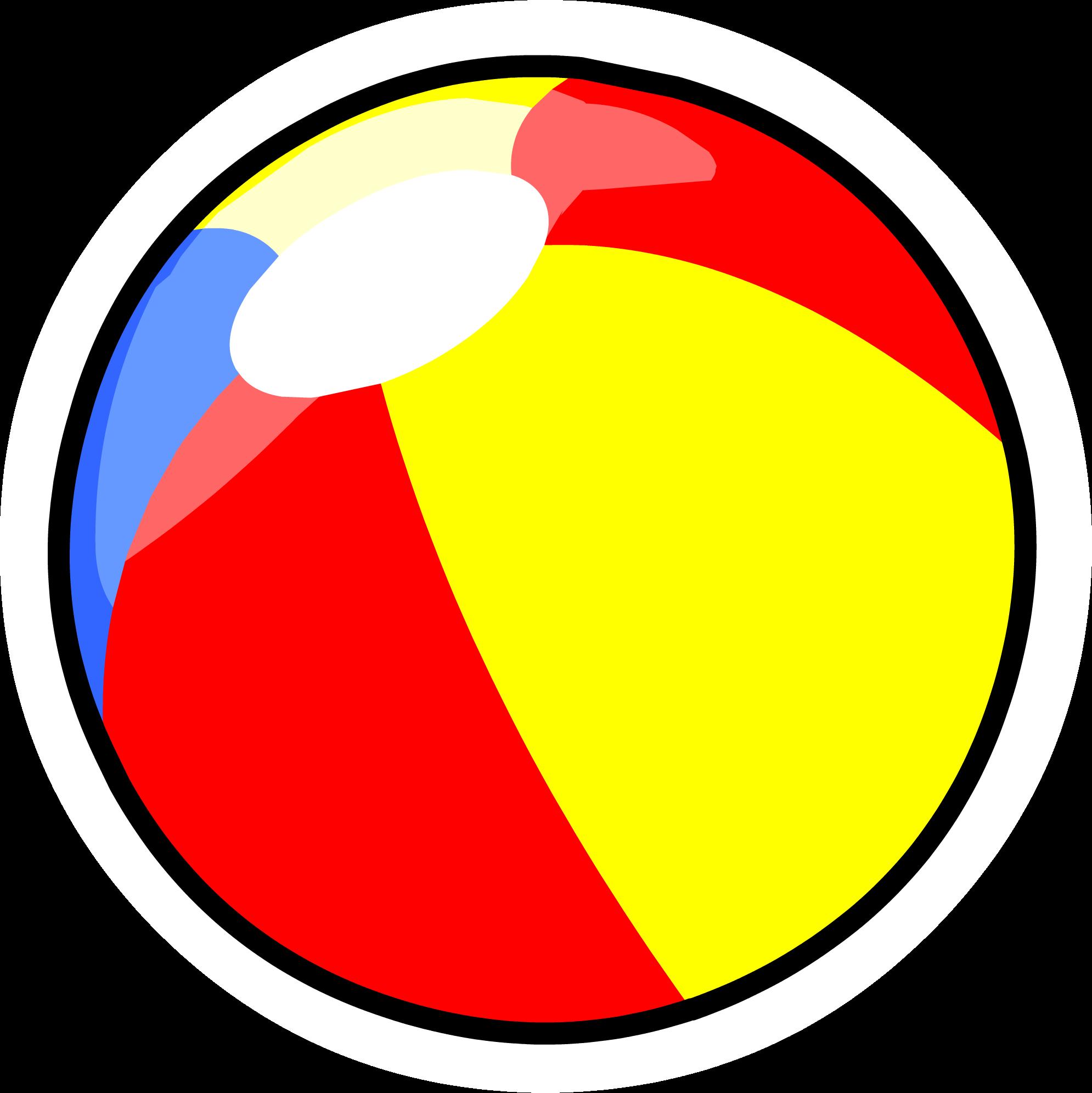 Clipart sun beach ball graphic royalty free Beach Ball pin | Club Penguin Wiki | FANDOM powered by Wikia graphic royalty free