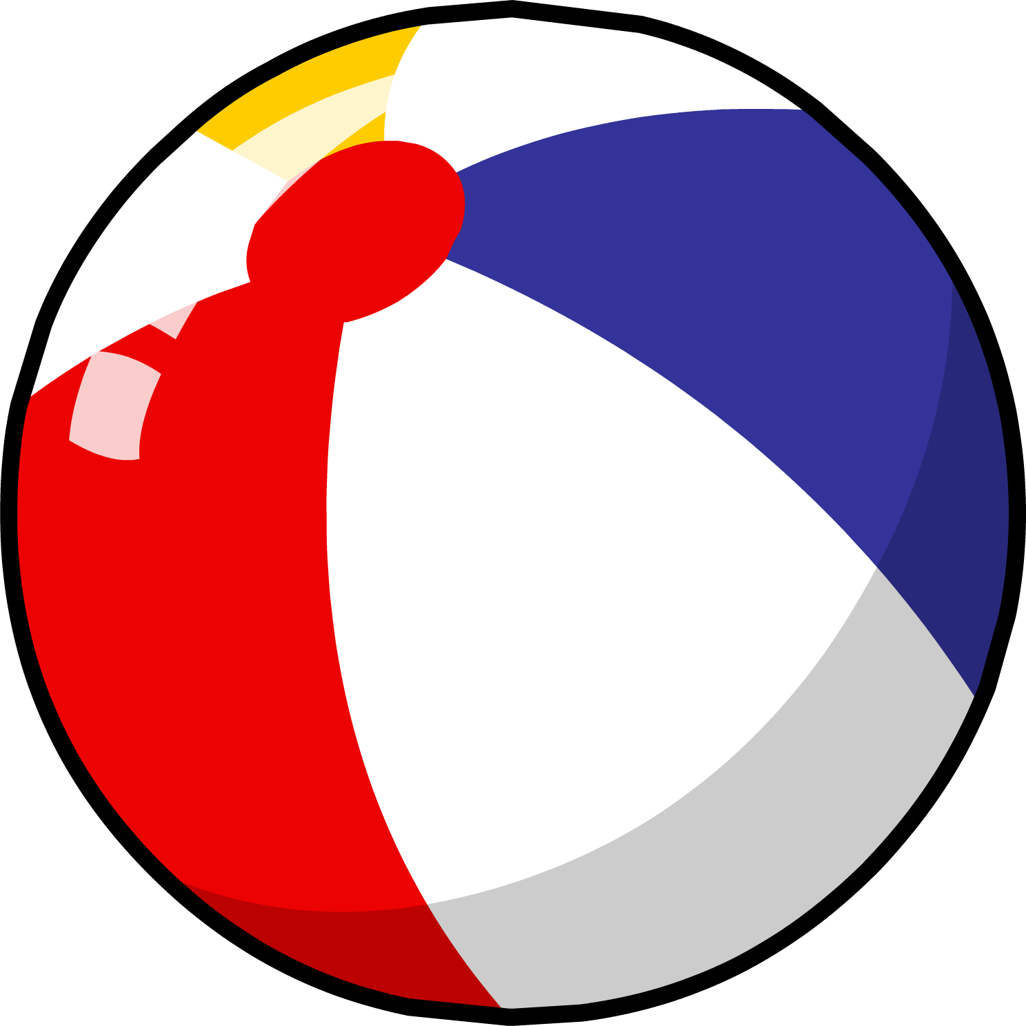 Clipart sun beach ball vector freeuse stock Beach Ball PNG Transparent Free Images | PNG Only vector freeuse stock