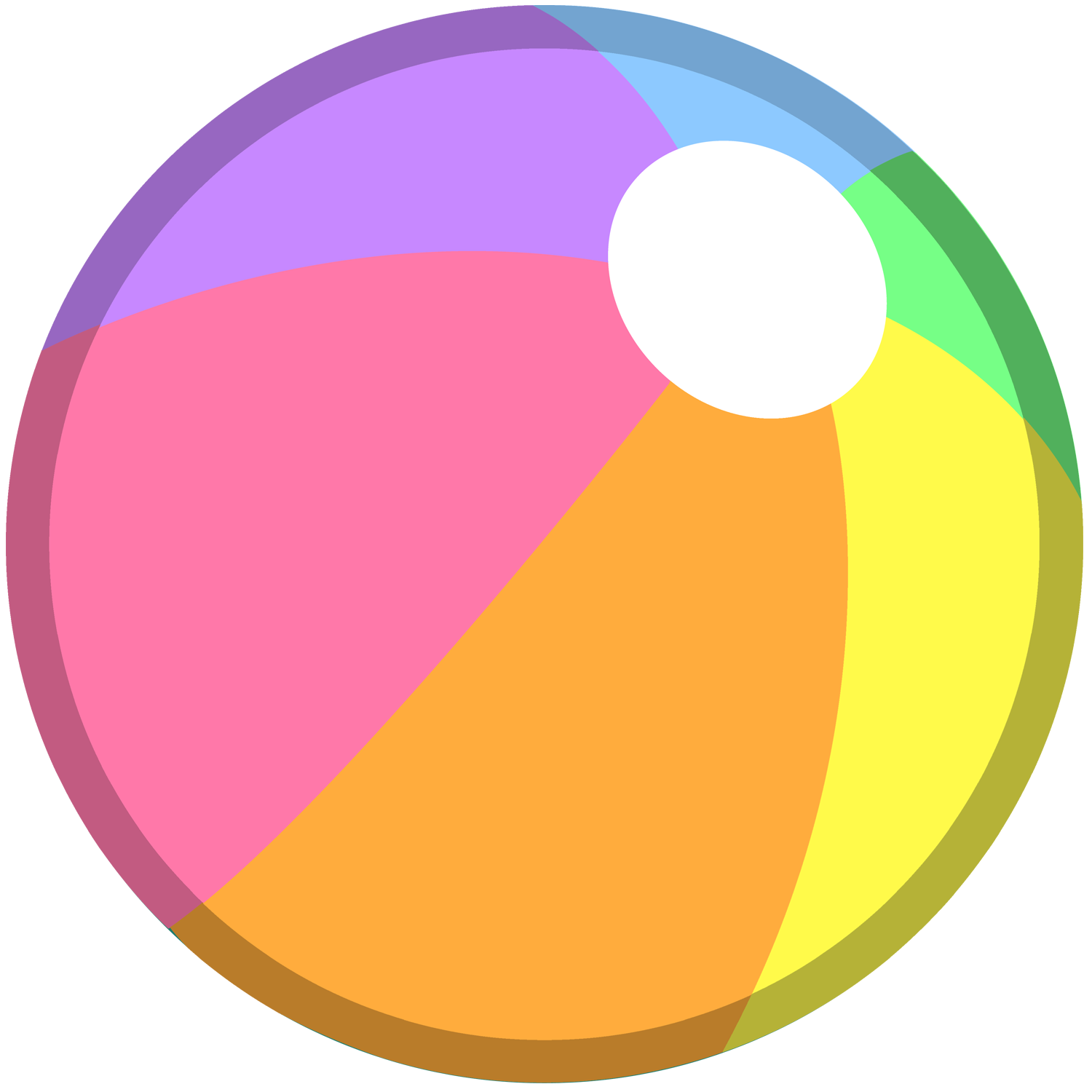Clipart sun beach ball graphic free stock Beach Ball PNG Transparent Free Images | PNG Only graphic free stock
