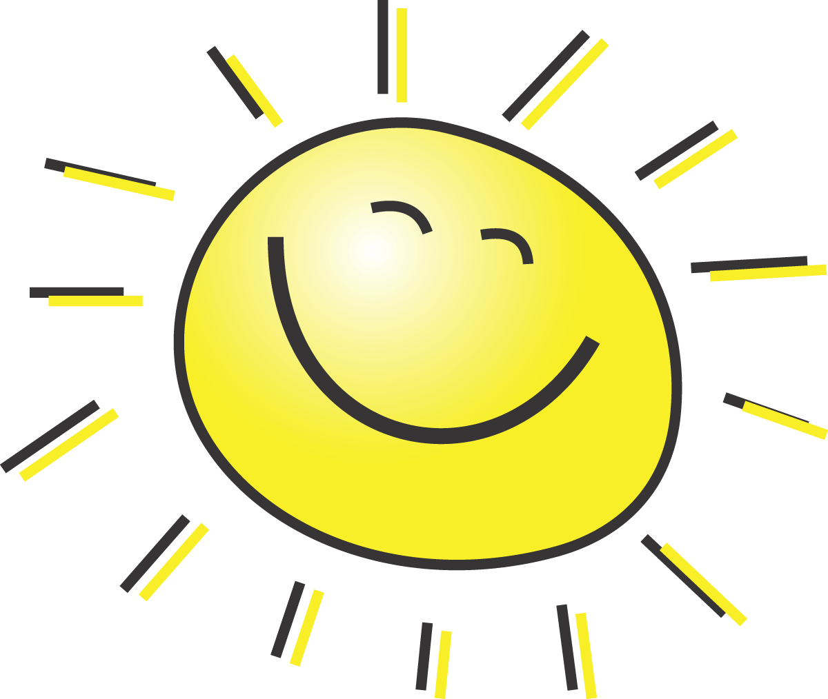 The sun shining clipart png clip art freeuse download The sun will come out tomorrow? | BCFF Blog - Clip Art Library clip art freeuse download