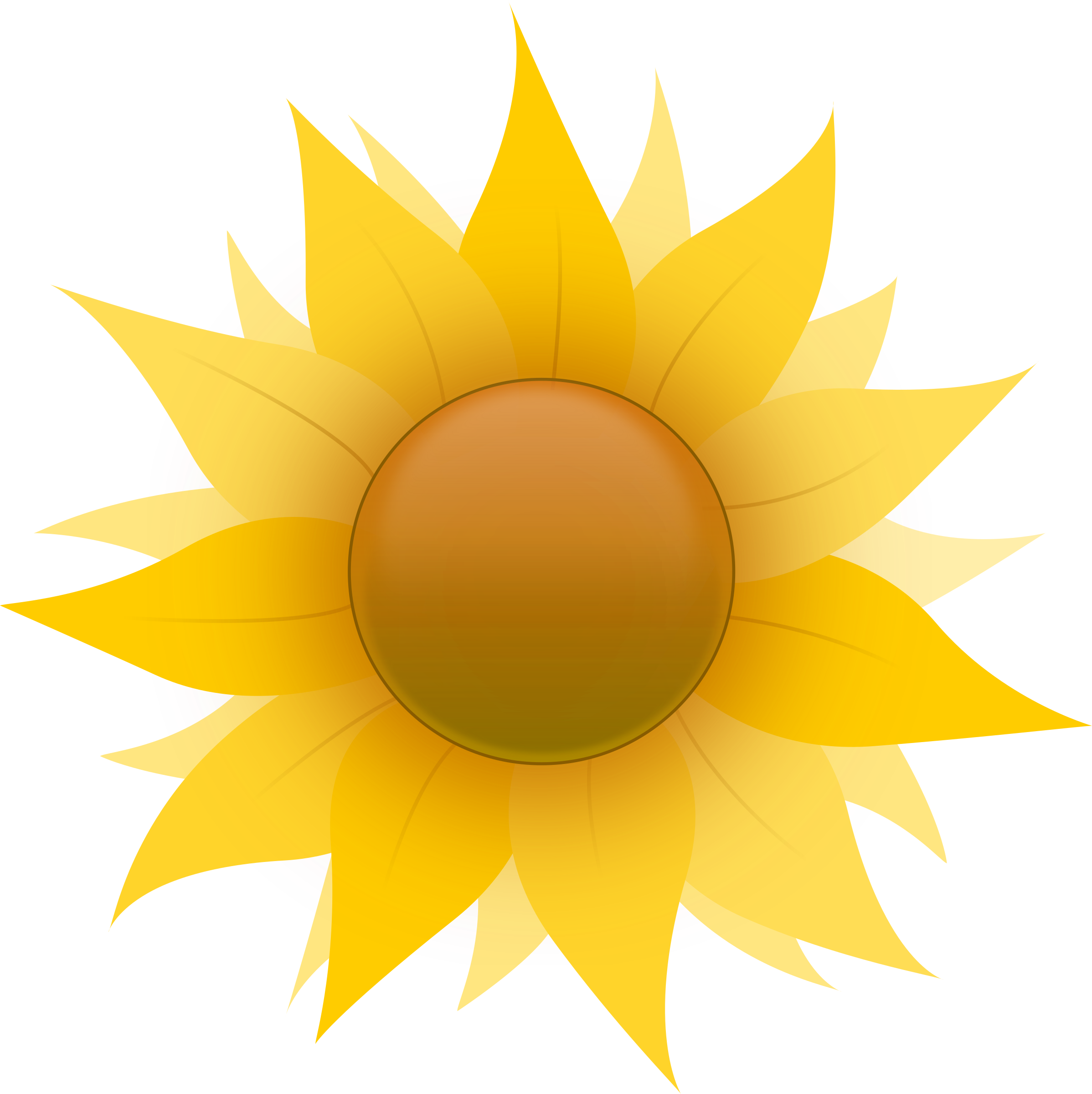 Clipart sun flower png black and white library Clipart - Sunflower png black and white library