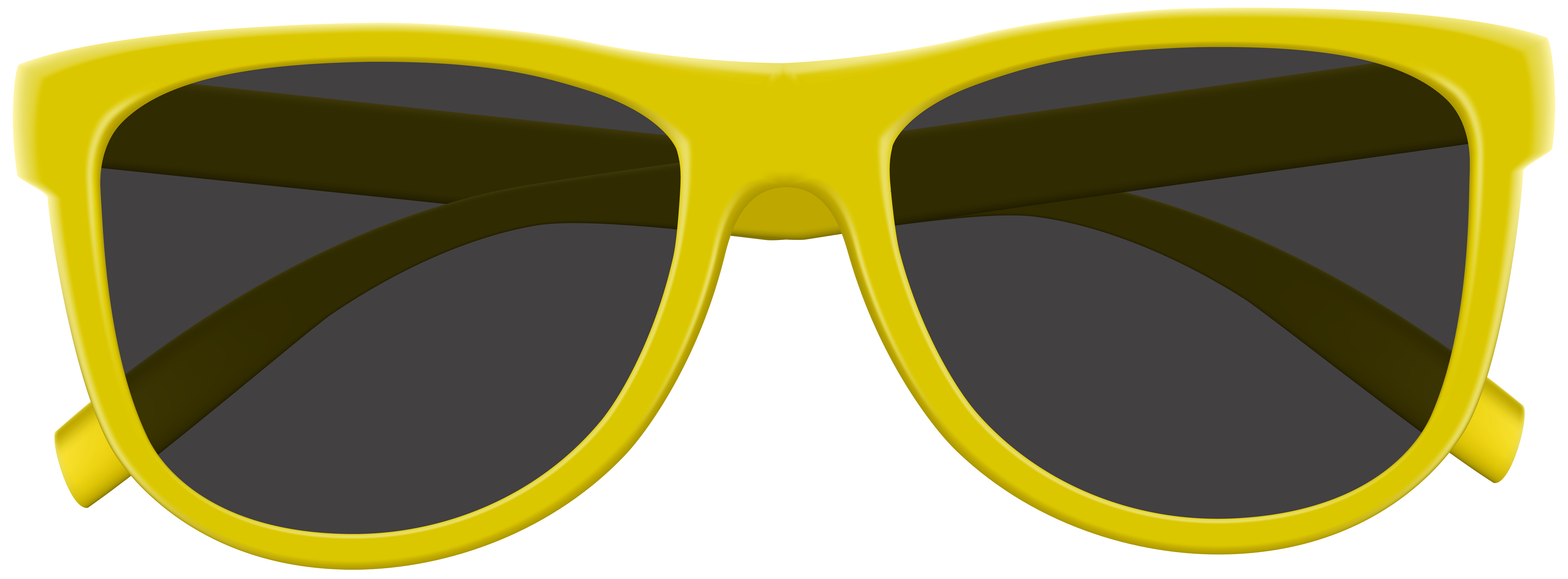 Clipart sun glasses svg transparent stock Yellow Sunglasses PNG Clip Art Image | Gallery Yopriceville - High ... svg transparent stock