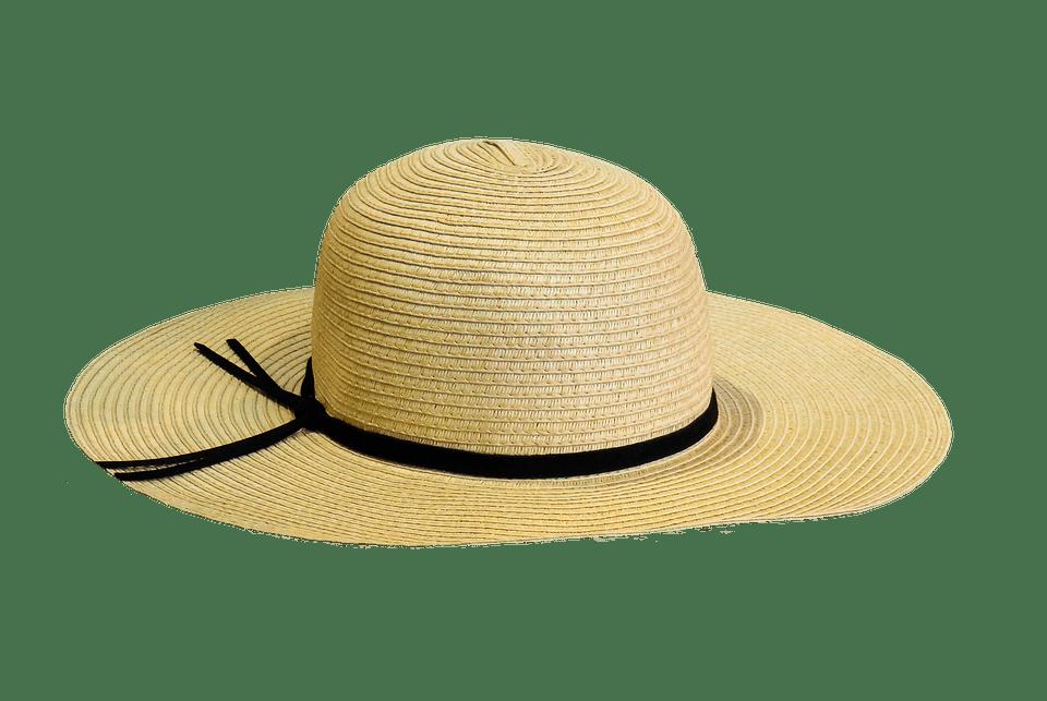 Sun hat clipart transparent vector freeuse stock Summer Hat transparent PNG - StickPNG vector freeuse stock