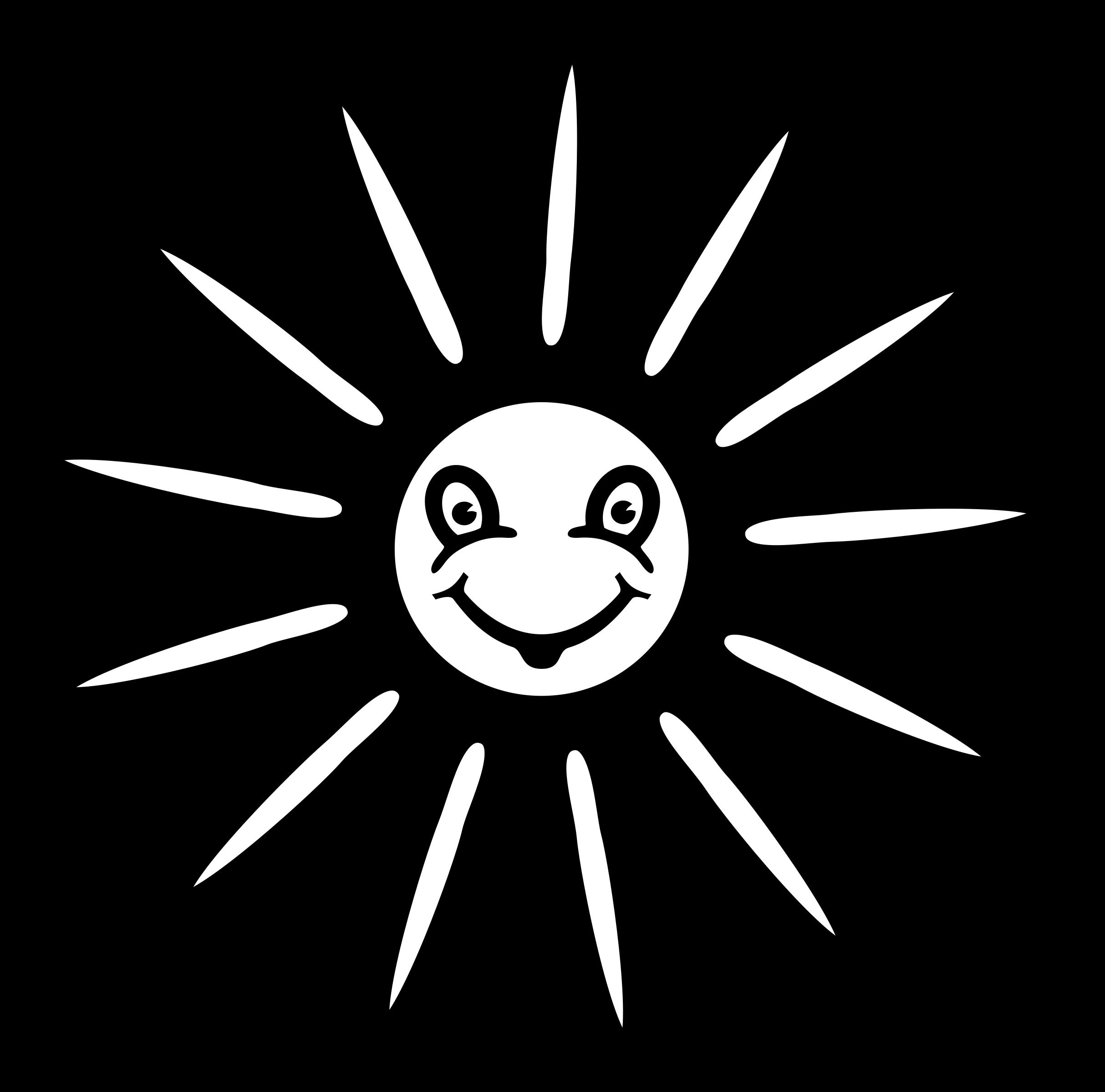 Coloring clipart sun clip freeuse Clipart - sun - lineart clip freeuse