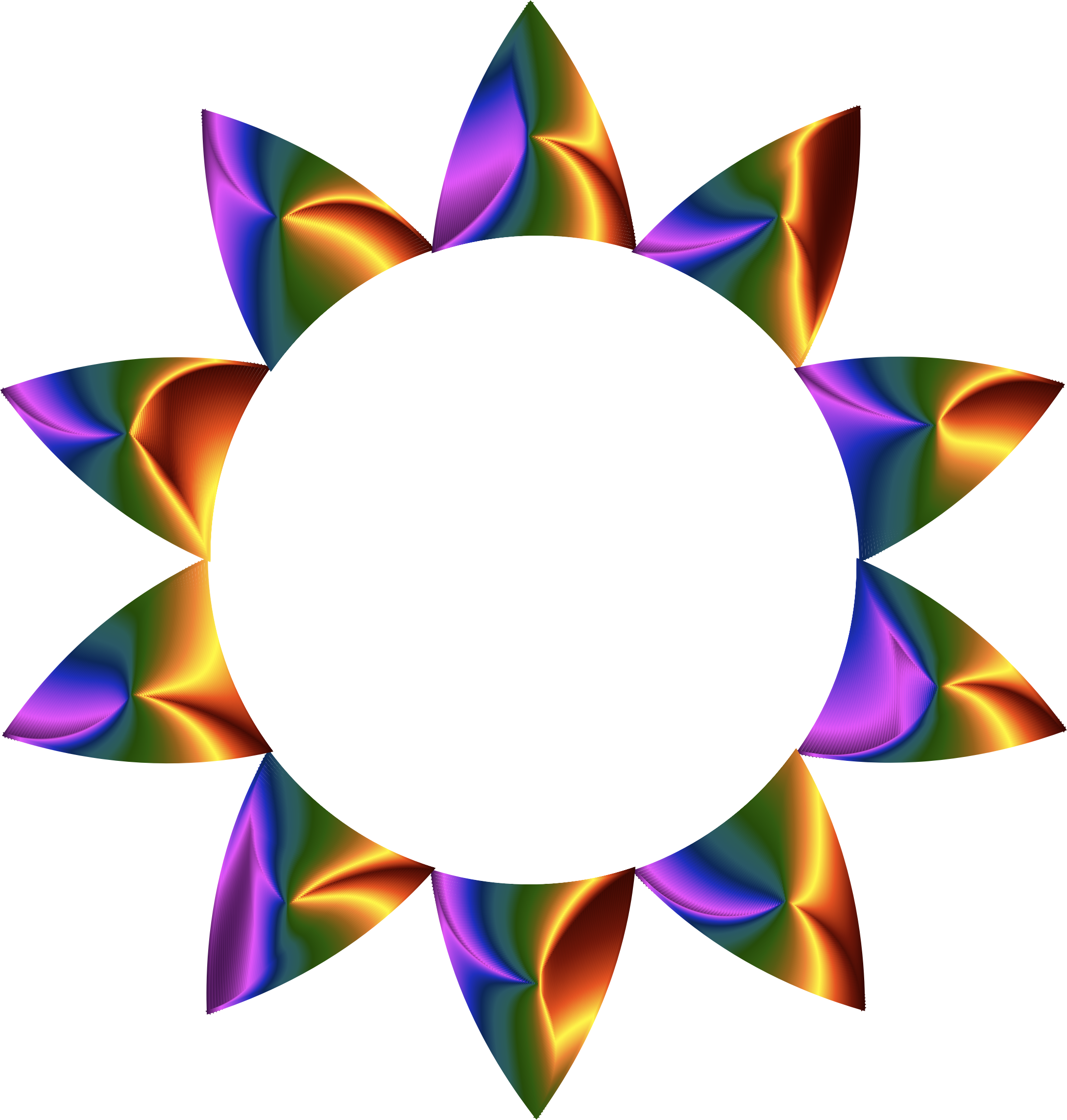 Sun line clipart vector royalty free download Clipart - Prismatic Sun Line Art No Background vector royalty free download