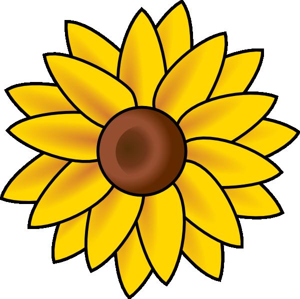 Sunflower sun clipart clipart download Sun Flower Clip Art at Clker.com - vector clip art online, royalty ... clipart download