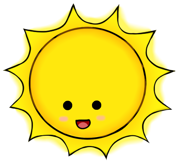 The sun shining clipart png vector freeuse ce72731de167b98756a67d44dc6d1797_-kawaii-shining-sun-sun-shining-gif ... vector freeuse