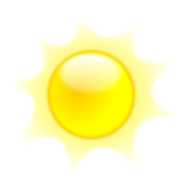 The sun shining clipart png graphic freeuse stock Shining Sun Clip Art at Clker.com - vector clip art online, royalty ... graphic freeuse stock