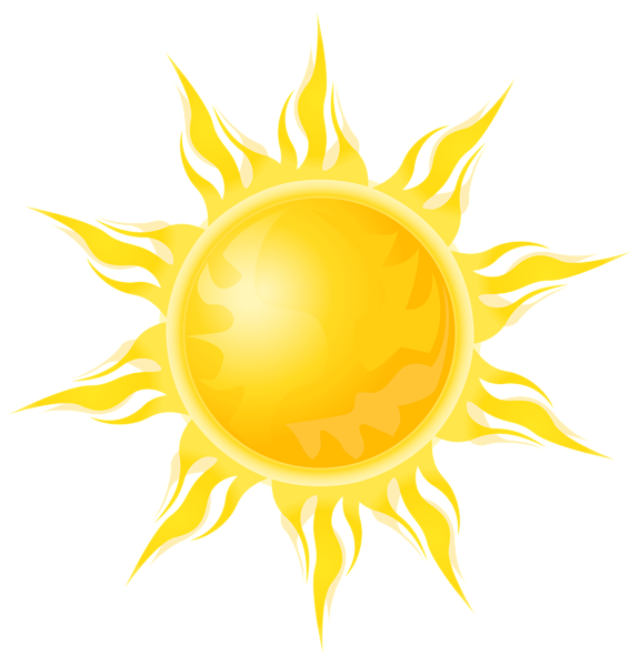 Clipart sun rising jpg free library Transparent Sun PNG Clipart | НЕБО | Pinterest | Clip art, Relief ... jpg free library