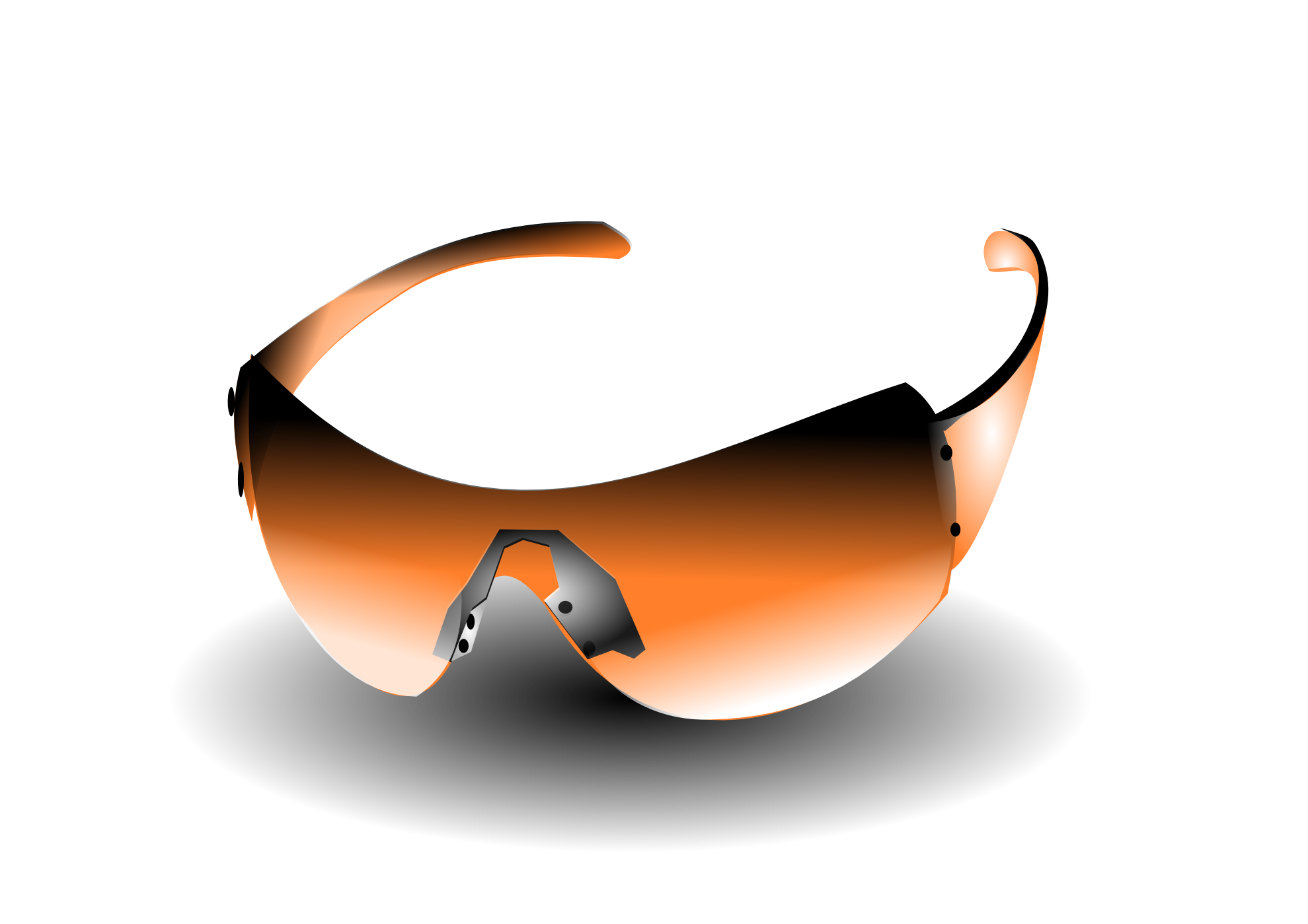Skull and crossbones with sun glasses clipart graphic freeuse clipartist.net » Clip Art » sun glasses orange clipartist.net 2012 ... graphic freeuse