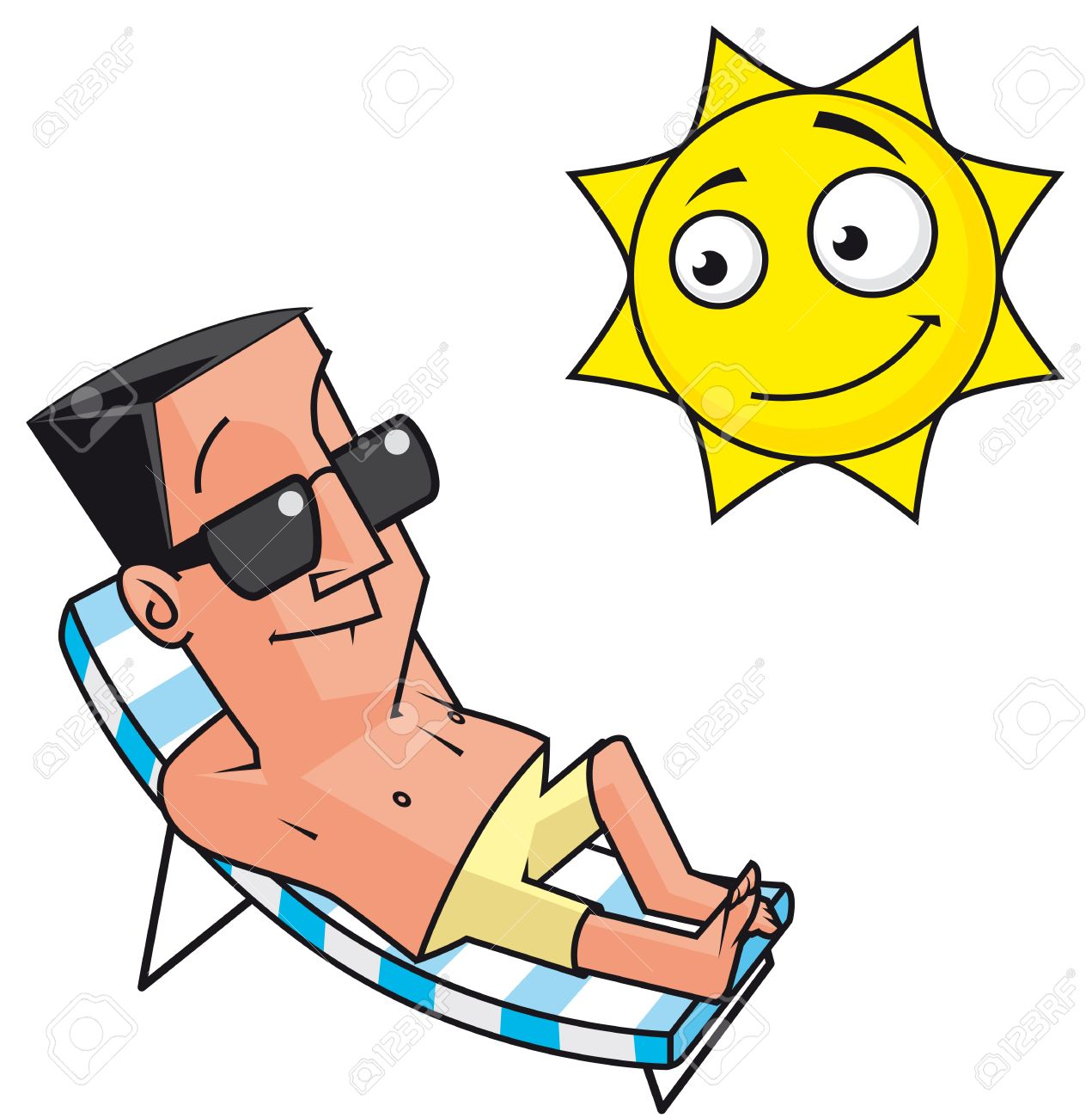 Sunbathing clipart png free download Sunbathing Clipart | Free download best Sunbathing Clipart on ... png free download