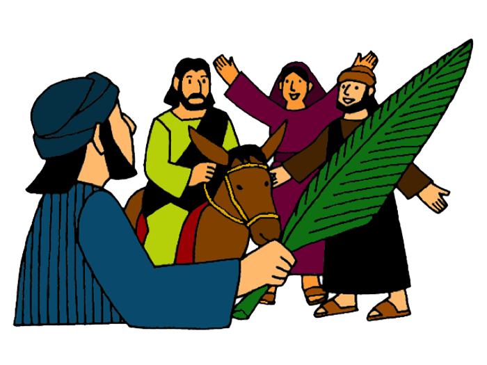 Triumphal Entry – Mission Bible Class free library
