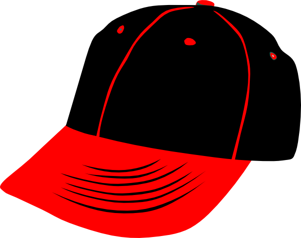 Clipart sunhat graphic download Red Black Hat Clip Art at Clker.com - vector clip art online ... graphic download