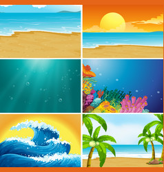 Clipart sunset beach graphic free library Sunset Beach Clipart Vector Images (over 100) graphic free library
