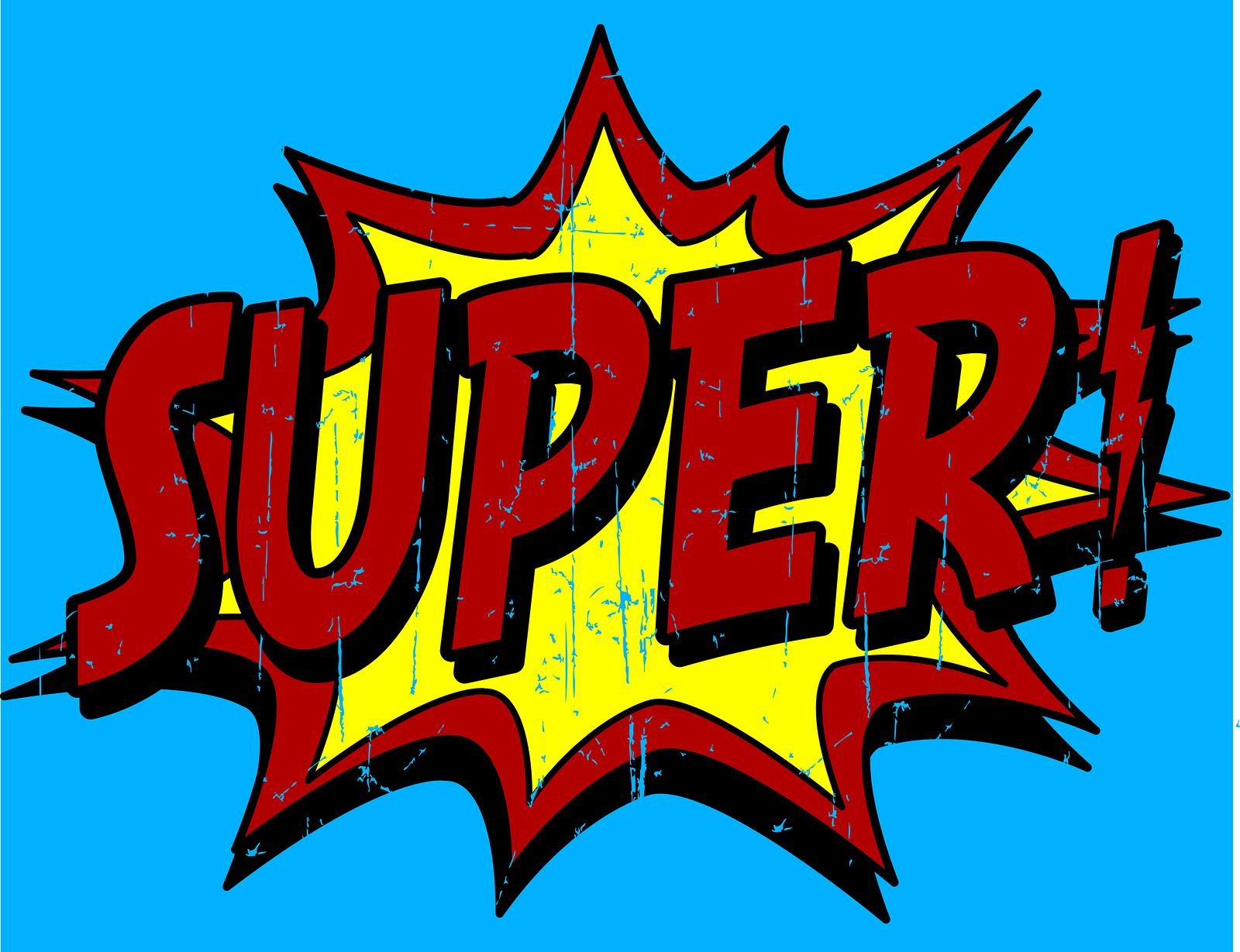 Clipart super banner freeuse download Superhero Words Clipart & Superhero Words Clip Art Images ... banner freeuse download
