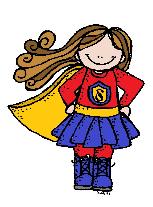 Clipart super picture black and white library Super Girl Clipart - Clipart Kid picture black and white library