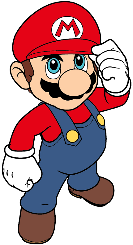 Super mario clipart stock Super Mario Bros Clip Art Images - Cartoon Clip Art stock