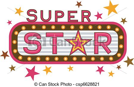 Clipart super star. And stock illustrations illustration