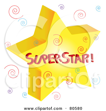 Clipart super star image black and white download Royalty-Free (RF) Superstar Clipart, Illustrations, Vector Graphics #1 image black and white download
