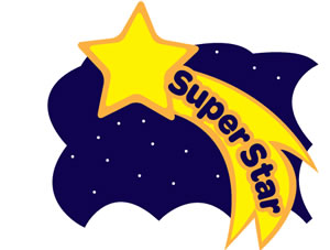 Clipart super star. Superstar panda free images