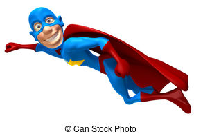 And stock illustrations vector. Clipart superman