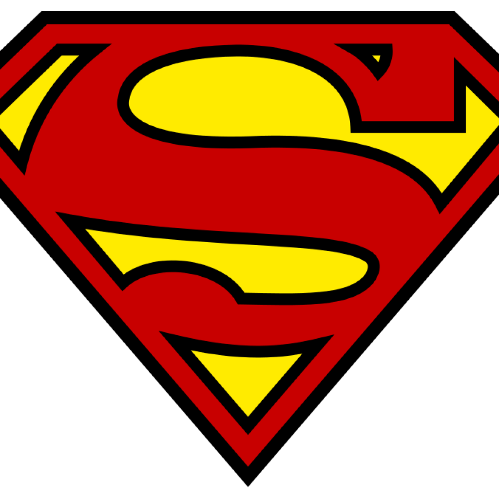 Clipart superman logo. Blank thank you hatenylo