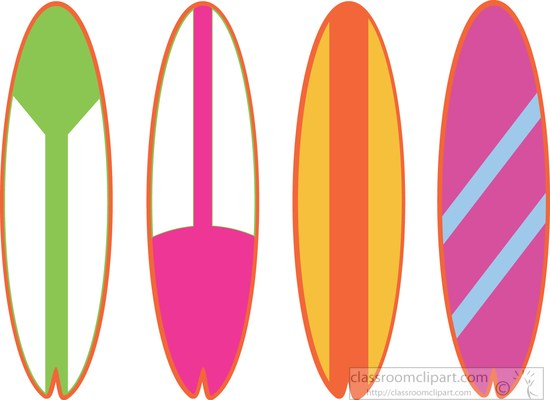 Surboard clipart jpg royalty free download Surf Board Clipart | Free download best Surf Board Clipart on ... jpg royalty free download