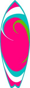 Clipart surfboard picture royalty free download Surfboard clip art - vector clip art online, royalty free & public ... picture royalty free download